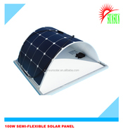 22% efficiency solar flexible panel 100w