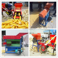 CE approved high frequency corn separator machine / corn thresher machine