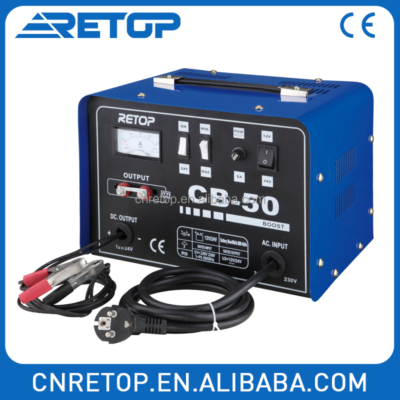 Quick Charger battery charger replacement with over-load protect CB 30