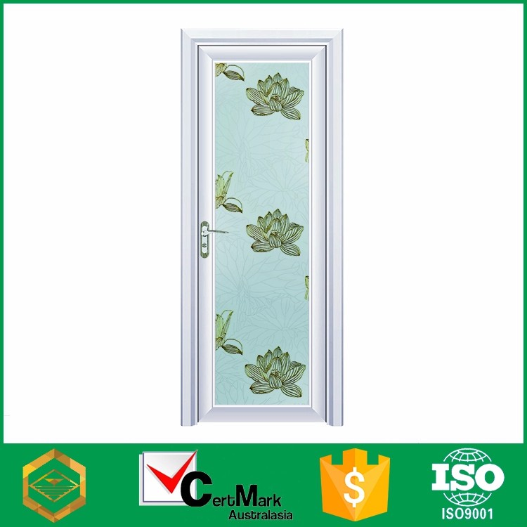 Sale interior movable white plain aluminum screen door