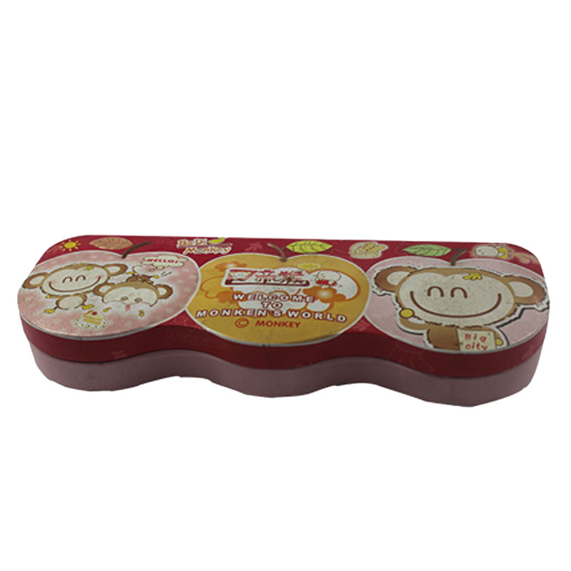 Custom Accept Round Paper Tin Box Cylinder Pencil Boxes Tea Packaging
