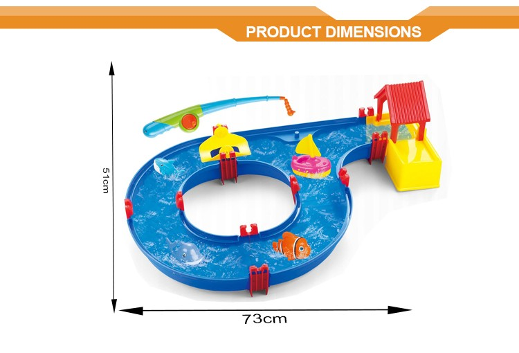 Kids plastic fishing game toys rods toy fishing game
