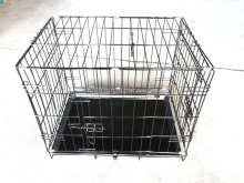 portable Pet Dog cage cat cage with wheels