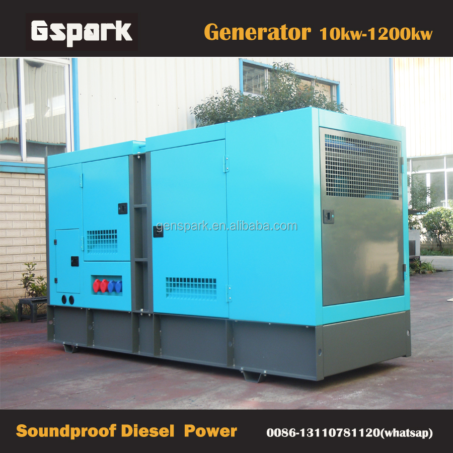 2017 Newly Model!! 50Hz 380V 200KVA Factory Price Diesel Generator Silencers
