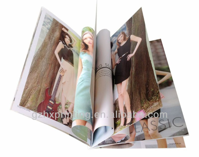 Custom Hardcover Photo Books/open hot sexy girl photo book
