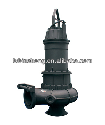 submersible vertical inline sewage pump
