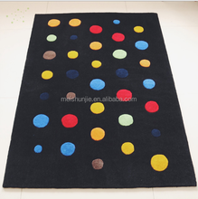 Hot Sell Nylon Stone Pattern Hand-made Carpet Living Spaces Rugs