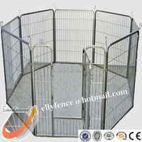 80x80cm 8 Panels Collapsible Pet Exercise Cage Dog PlayPen, Professional Factory with BV Certificate