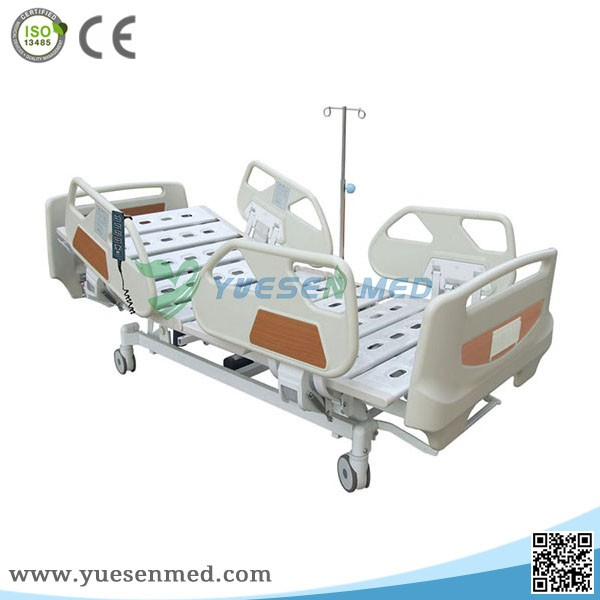 Hot sale medical five functions electric home care hospital bed
