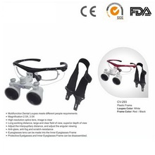 Best dental equipment headband magnifiying surgical binocular dentist loupes with 2.5X or 3.5X