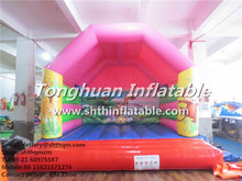 inflatable mini pink bouncer for kids