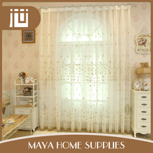 Latest designs standard size household the outdoor balcony modern curtains