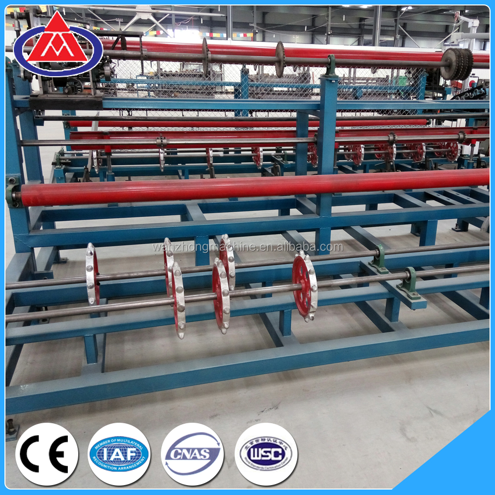 Alibaba products automatic chain link fence machine/chain link fence making machine