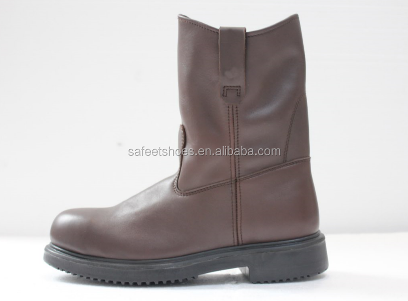 China top quality high ankle ASTM and CSA standard leather waterproof safety work boots steel toe SA-3305
