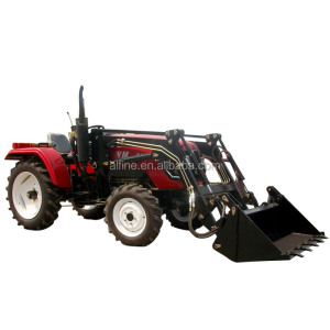 Factory directly sale good quality 25hp 4wd mini tractors with front end loader