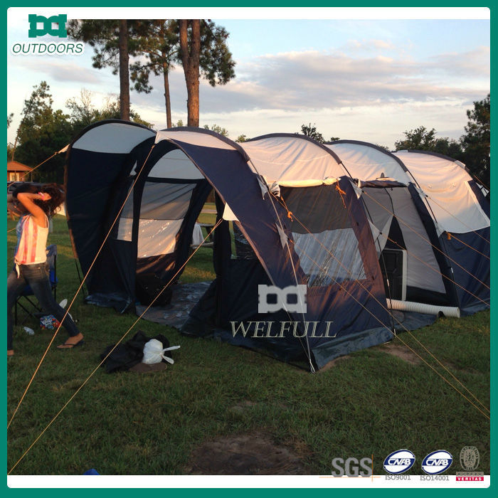 family camping solar power tent for sale