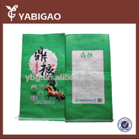 PP woven breathable plastic horse feed bag,food storage bag