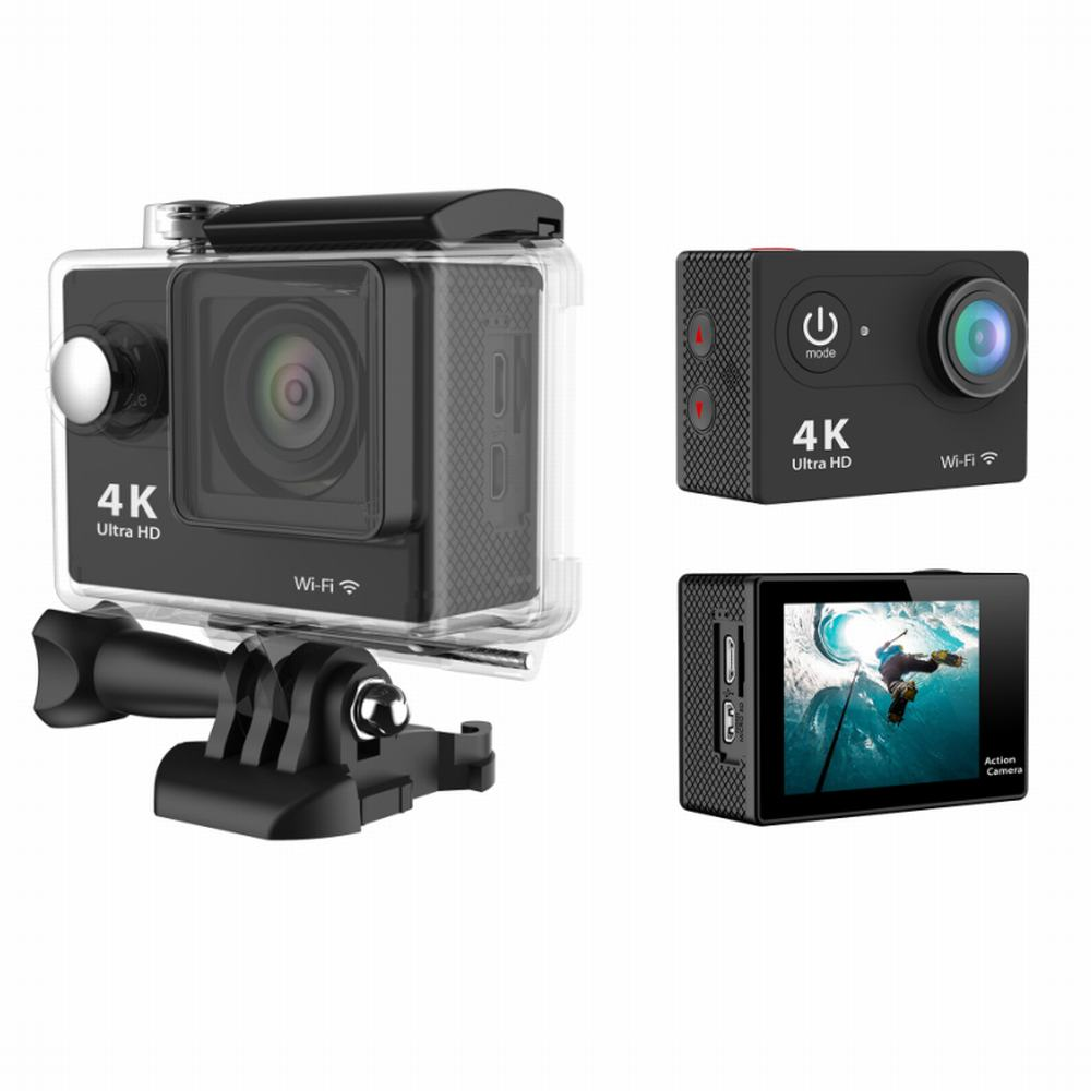 EKEN H9 Ultra HD 4K Action Camera Sunplus 6350 + OV4689 WiFi 170 Degree Wide Angle 2 inches LCD Screen for action camera