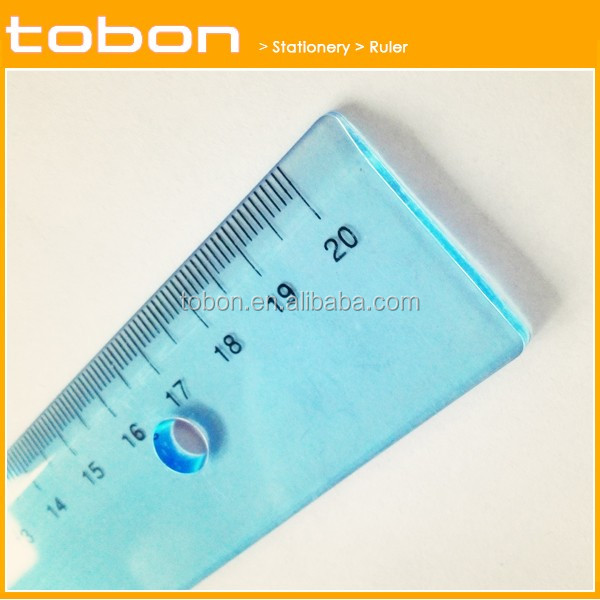 C312 office 20cm plastic drawing scale ruler