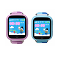 Multiple language touch screen 1.54 inch IPS big led screen kids gps smartwatch