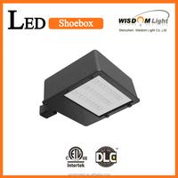 ETL DLC Listed LED Shoebox Light With 5 Years Warranty