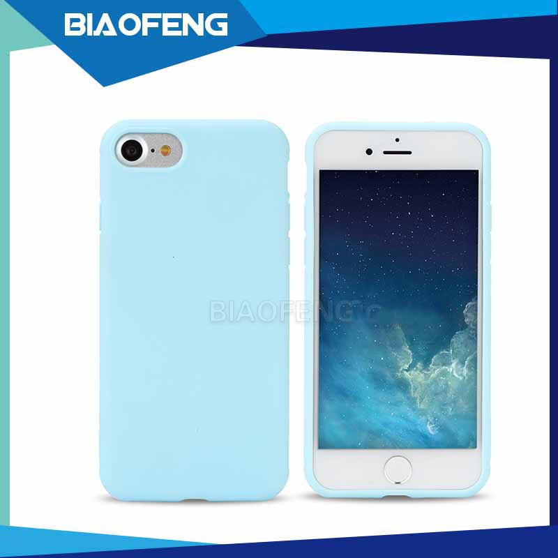 New Launched Ultimate Slim Beautiful Colorful Gel TPU Pudding Soft Case For Iphone 7/ 7 Plus