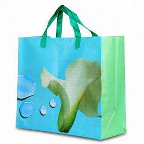 Eco Friendly Custom Logo Nonwoven Tote Reusable Foldable Shopping Bag With Snap Closure