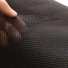 Polyester single layer mesh cloth