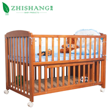 Solid wood baby cot bed baby cot bed baby crib