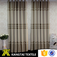 Suzhou KangTai Textile factory made black out window cloth new curtains style for 2016