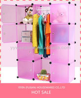 SW hot sale plastic storage waterproof baby plastic 15 door wardrobe