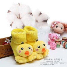 Cute and beautiful custom full soft terry born cotton tube baby 3D cartoon animal design frog toy baby socks