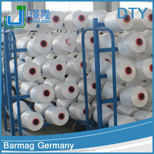 china yarn recycled polyester filament yarn dty 150d/36f rw nim