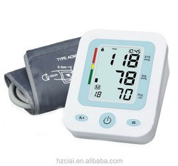 CE approved Fully automatic upper arm style digital blood pressure monitor
