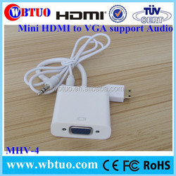 Best Seller Mini HDMI vga rca audio support
