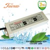 CE RoHS 12/24Vdc 30W ac dc constant voltage waterproof led driver switching power supply