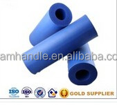 Available blue color low density polyurethane rubber foam tube