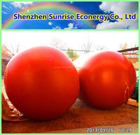 Bottom price stylish biogas methane gas storage tank / bag