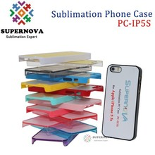 For Sublimation Blank iphone 5 Plastic Case