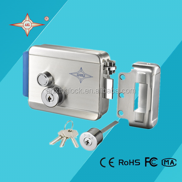 304 electric stainless steel door lock for gate digital door lock