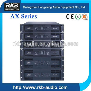 AX-230 professional power amplifier, pa amplifier
