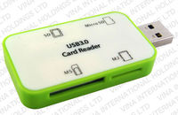 all in one USB 3.0 SD/micro SD/CF/MS/M2/XD/MMC/SDHC Card Reader
