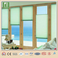Top down bottom up polyester string curtain