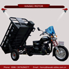 Chinese petrol auto rickshaw three wheel 200cc tipper cargo tricycle for adult