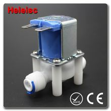 Water dispenser solenoid valve electric water valve sanitary ware water temperature sensor valve