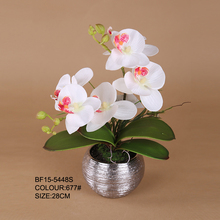 Fake Phalaenopsis Orchid Bonsai, Artificial Orchid Flower