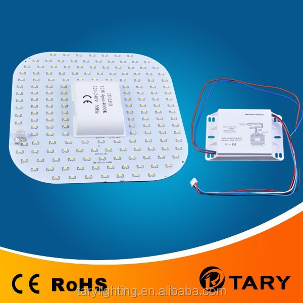 SMD3528 emergency LED 2D lamp 12W(replacement for 2D 28W)