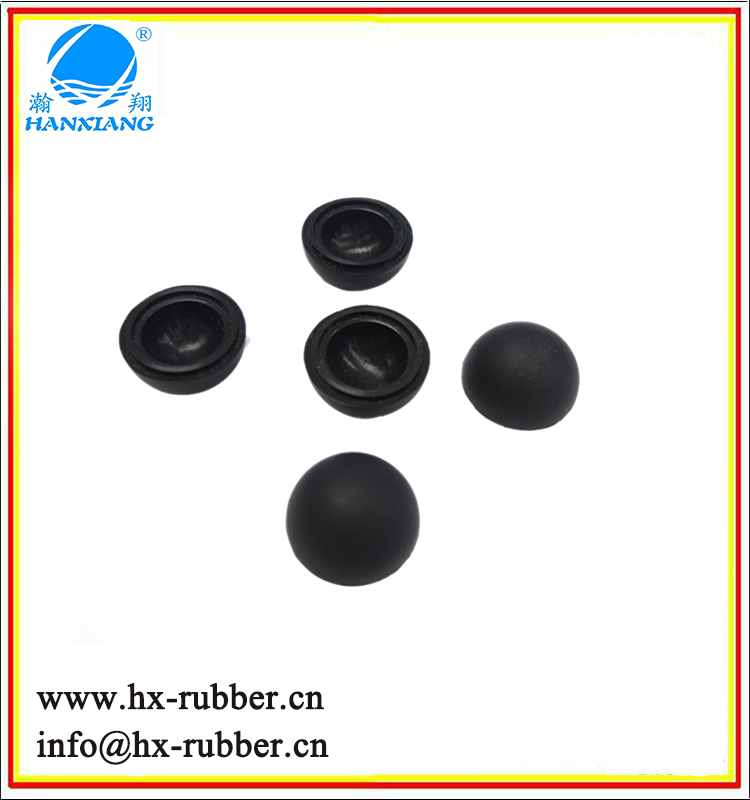 china factory made 55mm rubber hollow bouncy ball