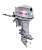 2 stroke 40HP gasoline outboard motor and 496cc outboard motor