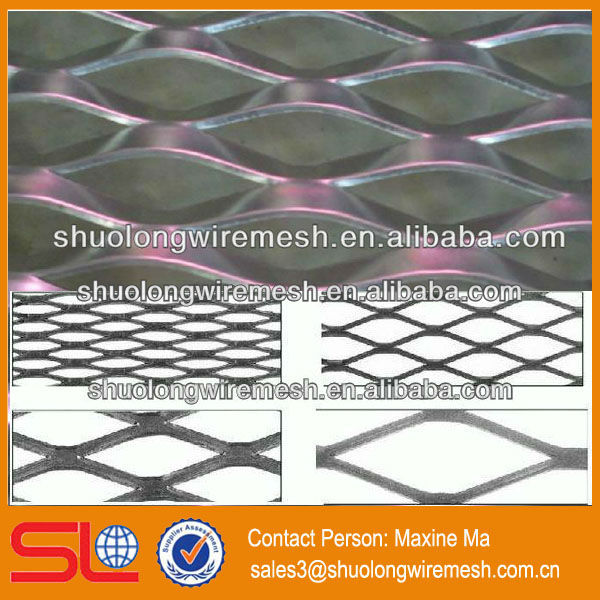 Hebei gold supplier honeycomb model aluminum expanded wire mesh (BV certification)